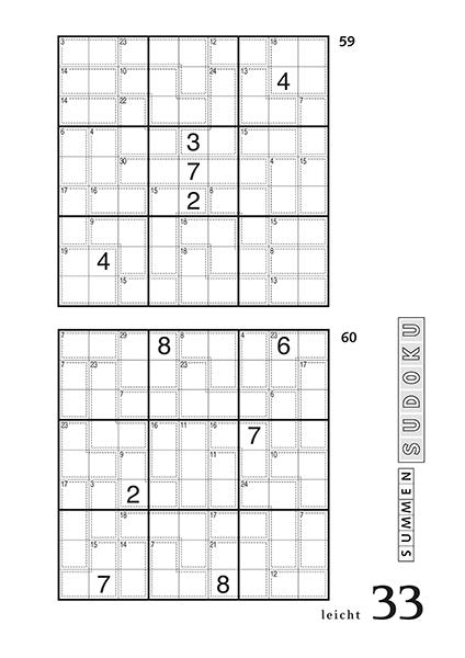 Summen Sudoku