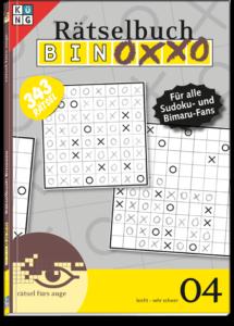 Binoxxo 04 Rätselbuch