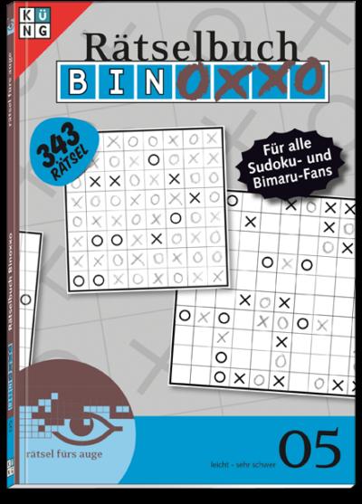 Binoxxo 05 Rätselbuch
