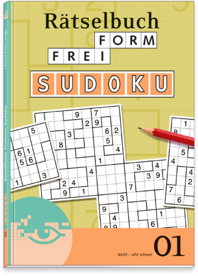 Freiform Sudoku 01 Rätselbuch