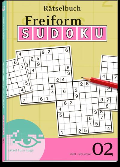 Freiform Sudoku 02 Rätselbuch