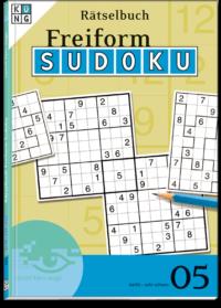 Freiform Sudoku 05 Rätselbuch