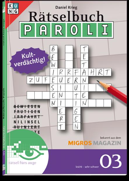 Paroli 03 Rätselbuch
