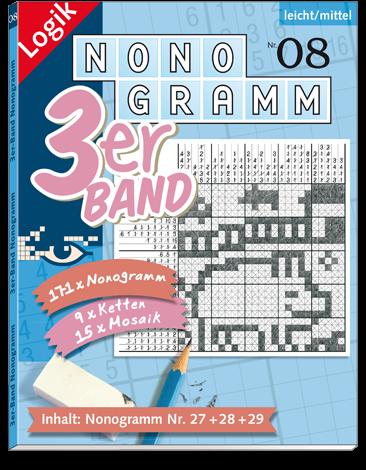 3er-Band Nonogramm 08
