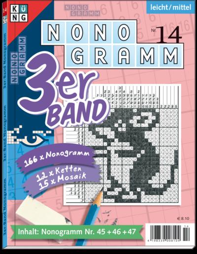 3er-Band Nonogramm 14