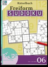 Freiform Sudoku 06 Rätselbuch