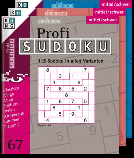Abonnement Profi Sudoku