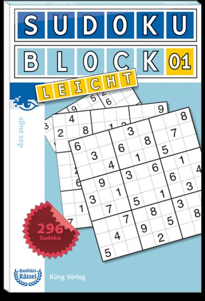 Sudoku Block 01 Leicht