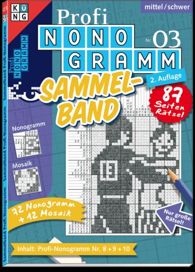 3er-Band Profi Nonogramm 03