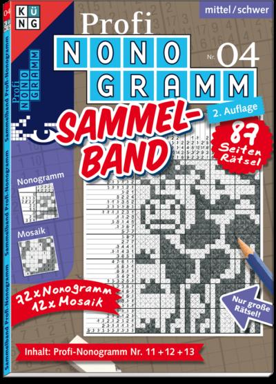 3er-Band Profi Nonogramm 04