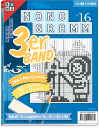 3er-Band Nonogramm 16