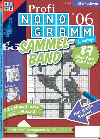 3er-Band Profi-Nonogramm 6