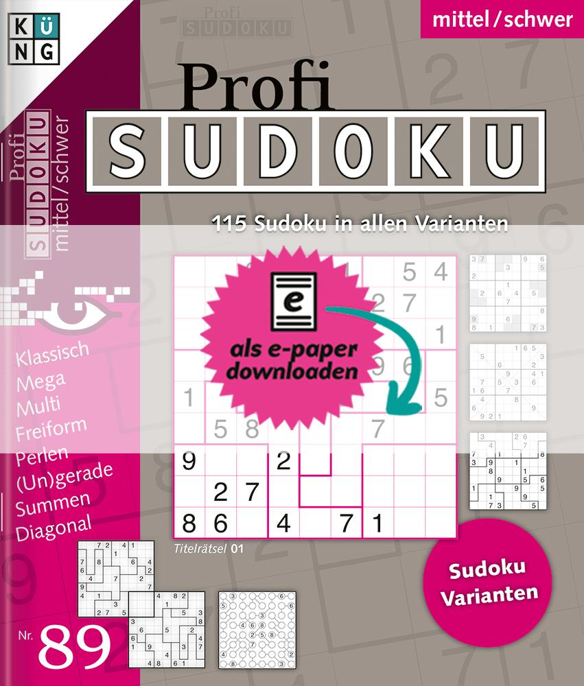 Profi Sudoku 89