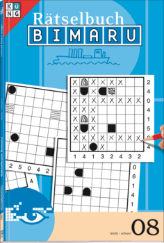 Bimaru 08 Rätselbuch