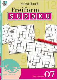Freiform Sudoku Rätselbücher