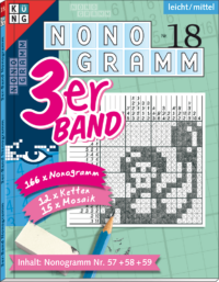 3er-Band Nonogramm 18