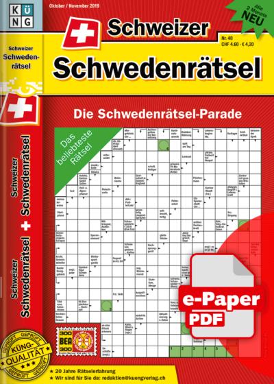 Schweizer Schwedenrätsel 2019.40 e-Paper