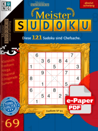 Meister Sudoku 69 e-Paper