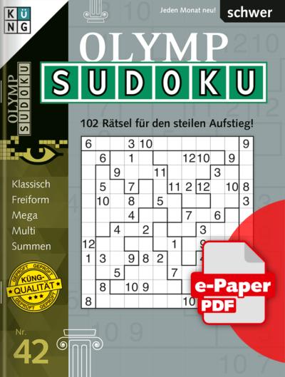 Olymp Sudoku 42 e-Paper