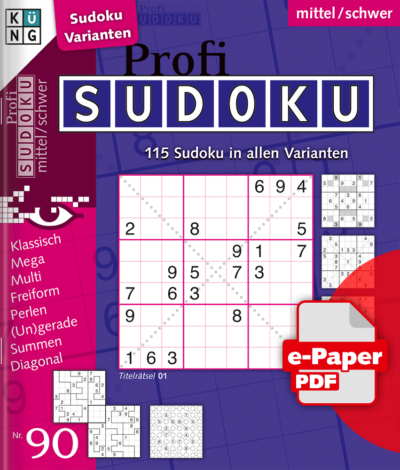 Profi Sudoku 90 e-Paper