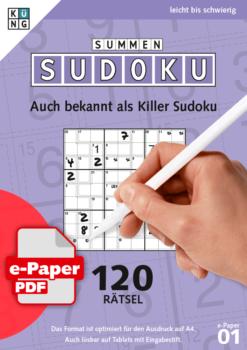 Summen Sudoku e-Paper