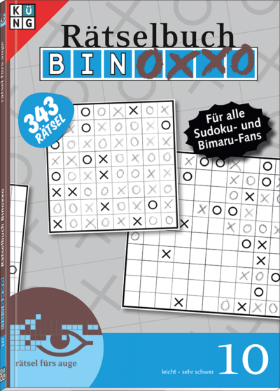 Binoxxo 10 Rätselbuch