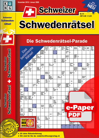 Schweizer Schwedenrätsel 2019.41 e-Paper