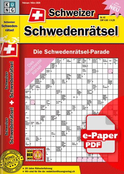 Schweizer Schwedenrätsel 2019.42 e-Paper