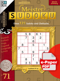 Meister Sudoku 71 e-Paper