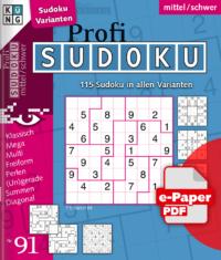 Profi Sudoku 91 e-Paper