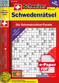 Schweizer Schwedenrätsel 43.2020 e-Paper